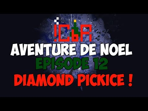 ╚ Minecraft Map FR ╝ L'aventure de Noel #12 - Diamond Pickice ! [J-13]