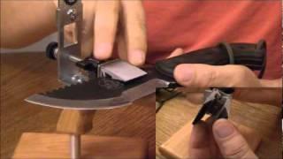 getlinkyoutube.com-KME Knife Sharpening System