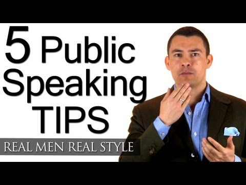 5 Tips To Improve Your Public Speaking - How To Speak Professionally - Speech Speaker Tips