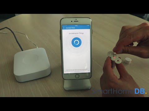 HOW-TO: Pair and Connect your Samsung SmartThings Hub with an Aeotec Recessed Door Sensor