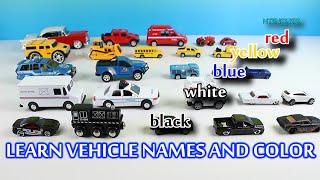 getlinkyoutube.com-Learning Street Vehicle Names, Color and Sounds for Kids