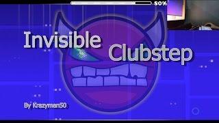 getlinkyoutube.com-Invisible Clubstep (Hard Memorization) by Krazyman50  [Geometry Dash]