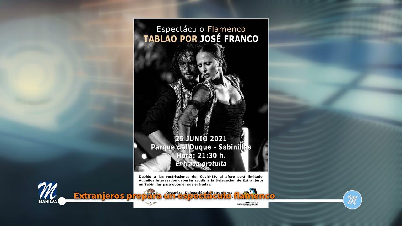 Extranjeros prepara un espectáculo flamenco