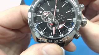 getlinkyoutube.com-Мъжки часовник Festina Chrono F16489/5