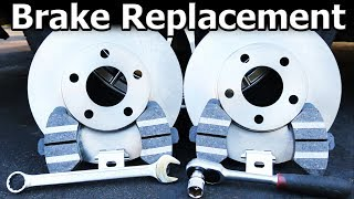 How to Replace Brake Pads and Rotors (COMPLETE Guide) width=