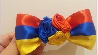 getlinkyoutube.com-🎀 💐 Заколка для валос Армянский флаг 💐 🎀