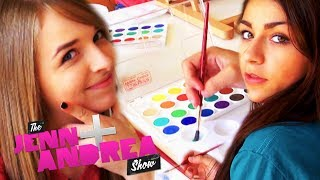 getlinkyoutube.com-Jennxpenn and Andrea Russett PAINT EACH OTHER + GIVEAWAY