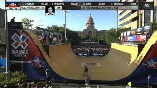 getlinkyoutube.com-XGames Austin 2015 - Skateboard Vert Round 1 HD