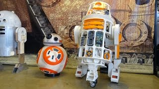 XRobots - Star Wars BB-8 & 3D Printed R6 Droids go to CollectorMania 23 at Milton Keynes!