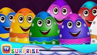 getlinkyoutube.com-Surprise Eggs Farm Animals Toys | Learn Farm Animals & Animal Sounds | ChuChu TV Surprise For Kids