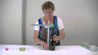 getlinkyoutube.com-Glass Bottle Cutter - How to cut glass bottles Part 1