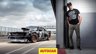 getlinkyoutube.com-How to drift*, by Ken Block – shredding tyres in the 845bhp Hoonicorn Mustang