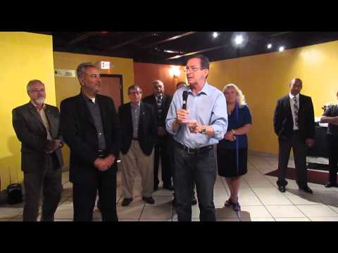Governor Malloy on Growing Jobs and Small Businesses in CT