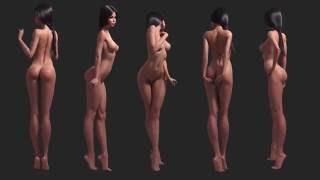 getlinkyoutube.com-3d cartoon girl, female, sexy character