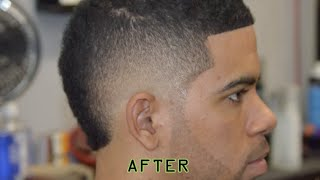 getlinkyoutube.com-How To do a Burst Fade | Burst Fade haircut Tutorial | Featured Barber