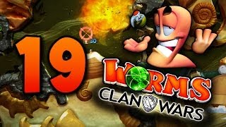 getlinkyoutube.com-Most Bizarre Worms Game Ever! (Worms Clan Wars #19)