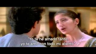 getlinkyoutube.com-Chaha Hai Tujhko - Aamir Khan, Manisha Koirala Sub Español
