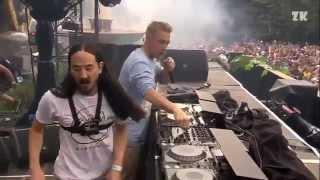 getlinkyoutube.com-Freak - Steve Aoki, Diplo, & Deorro (ft. Steve Bays) Live @ Tomorrowland 2014 Dim Mak Stage