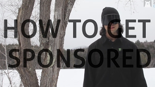 How to get sponsored for skiing