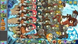 getlinkyoutube.com-Plants vs Zombies 2 - All World Gargantuar vs Zombot Tuskmaster 10,000 BC