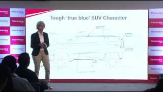 getlinkyoutube.com-Mahindra TUV300 Battle Tank Design Inspiration | TUV300 Sketch Reveal