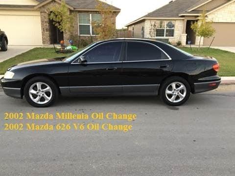 2002 Mazda Millenia 626 V6 Oil Change