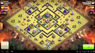 getlinkyoutube.com-Clash of Clans - How to attack with Dragons - EquilibriumCoC