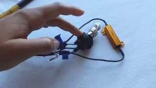 getlinkyoutube.com-DIY - How to Install LED Blinker / Turn Signal Resistors  - Enlight Tutorial