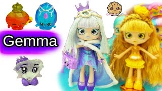 getlinkyoutube.com-Special Edition Limited Gemma Stone Shoppies Doll with Exclusive Shopkins Surprise Blind Bags
