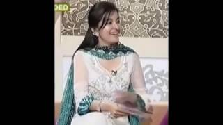Dr. Shaista Lodhi Grabbing Her Boobs, 1st time on live Pakistani channel