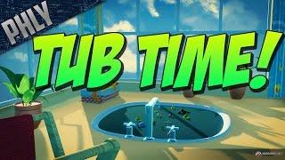 getlinkyoutube.com-WORLD OF WARSHIPS APRIL FOOLS! BATH TUB BRAWL! (World Of Warships Gameplay)