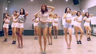 getlinkyoutube.com-SISTAR - Shake it - mirrored dance practice video - 씨스타 쉐이크 잇