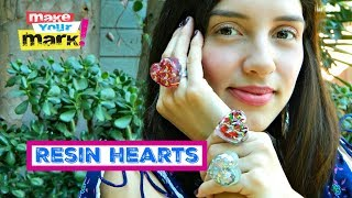 How to: Heart Shaped Knobs and Rings