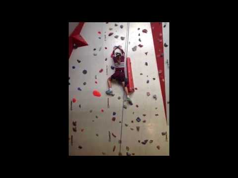 <p>Demonstration and written reflection: Indoor climbing</p>