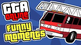 getlinkyoutube.com-GTA 5 Online Funny Moments - BIG RACE