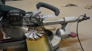 getlinkyoutube.com-Не типичная работа торцовочной пилы. Часть 2. Unusual work of a miter saw. Part 2.
