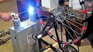 getlinkyoutube.com-Megawatt Bicycle Generator