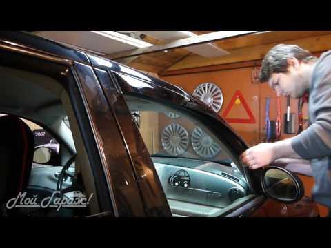 Автобудни. 05. Установка дефлекторов окон или просто ветровиков. На примере  Chrysler PT Cruiser.