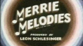 Merrie Melodies titles from 1936 to 1942 with Looney Tunes music plus 3-D intro