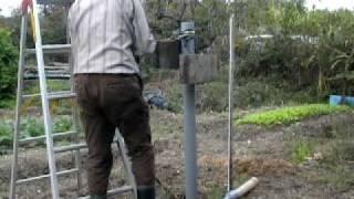 getlinkyoutube.com-手作り井戸掘り器の使い方-1