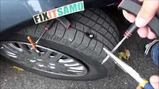 getlinkyoutube.com-DIY How to Fix a Flat Tire EASY!