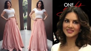 Sunny Leone At Lawman Store To Promote ONE NIGHT STAND !!