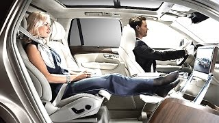getlinkyoutube.com-Volvo XC90 Limo INTERIOR Lounge Puts Range Rover On Notice TV Commercial Sexy CARJAM TV HD 2016