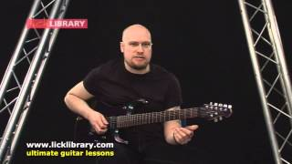 getlinkyoutube.com-How To Play  - Down From The Sky by Trivium  - Intro Guitar Lesson with Andy James Licklibrary