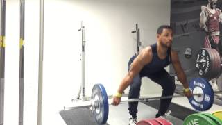 getlinkyoutube.com-Barbell Snatch Liftoff Technique (Olympic Weightlifting)