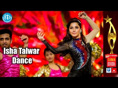 Isha Talwar Dance Performance@SIIMA 2014, Malayalam