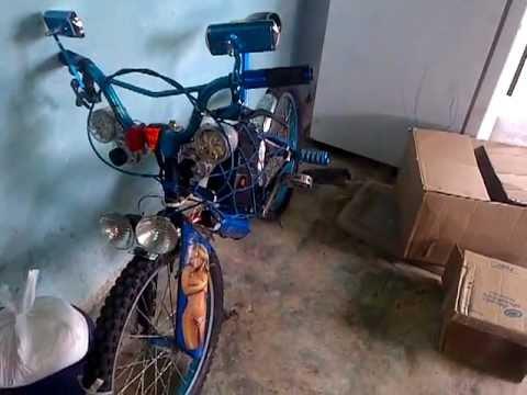 bicicleta tuning
