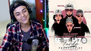 Ñejo ✖ Jon Z ✖ Ele A El Dominio ✖ Jamby EL Favo - Se Te Hizo Tarde ⌛ [Official Video] Reaccion !