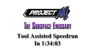 getlinkyoutube.com-[TAS] Project M: The Subspace Emissary in 1:34:03 (Intense Difficulty, No Damage)