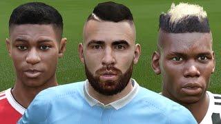 getlinkyoutube.com-FIFA 16 Player Faces Update Ft. Rashford and Otamendi! (PC MOD)